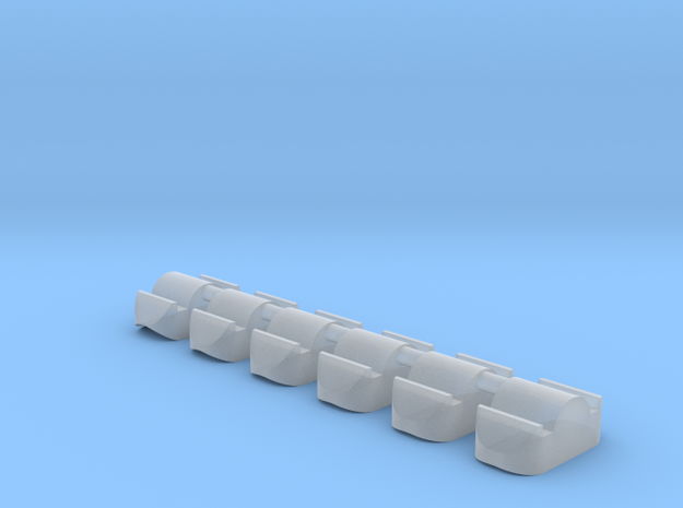 skeee's nub set - concave master in Smoothest Fine Detail Plastic
