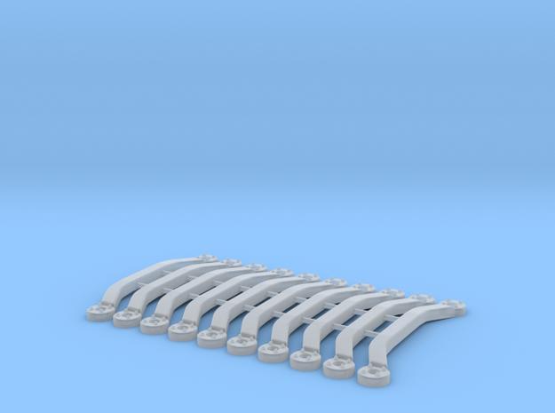 Set of 10 - Strut Tower Brace 19.5mm #1 in Smooth Fine Detail Plastic