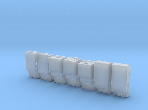 1/160 Humvee set of 7 simple models