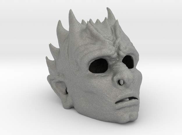 White Walker Mask in Gray PA12