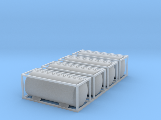 TankTainer - Ultra - Z scale in Smooth Fine Detail Plastic