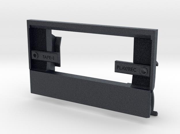 Conion C100 Custom Replacement Door (ver. 1) in Black PA12