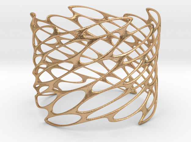 LATTICE bracelet 1.9mm even plated in Natural Bronze