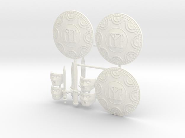 DIMITRIS 14  in White Processed Versatile Plastic
