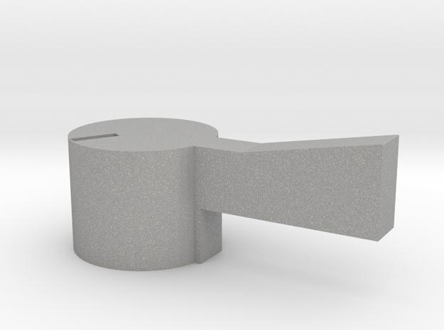 Quad AM2 Selector - right in Aluminum
