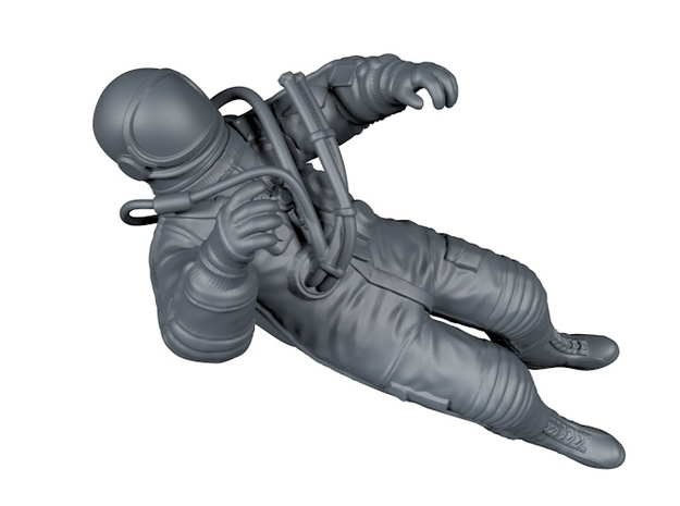 Alexei Leonow / First EVA / 1:18 in Smooth Fine Detail Plastic