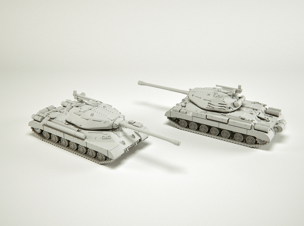 IS-4 Heavy Tank Scale: 1:160 in Smooth Fine Detail Plastic