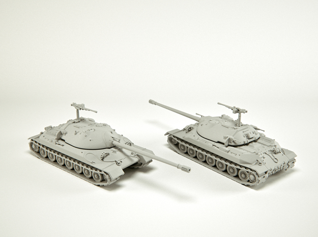 IS-7 Heavy Tank Scale: 1:200 in Smooth Fine Detail Plastic
