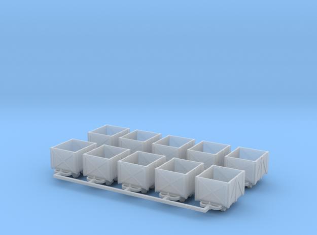 Torflore V1 10erSet - TTf 1:120 in Smooth Fine Detail Plastic