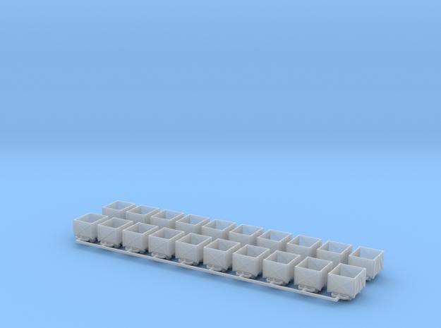 Torflore V1 20erSet - TTf 1:120 in Smooth Fine Detail Plastic
