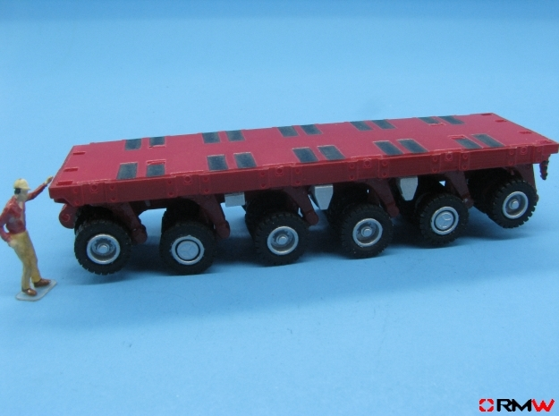 HO/1:87 spmt 6 axles (without ppu) in Smooth Fine Detail Plastic