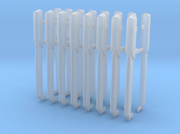 1/1000 Warp Plasma Conduit Ver.2 16pk. in Smooth Fine Detail Plastic