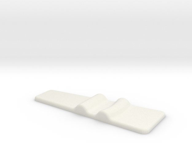 Naboo Officer Buckle in White Natural Versatile Plastic