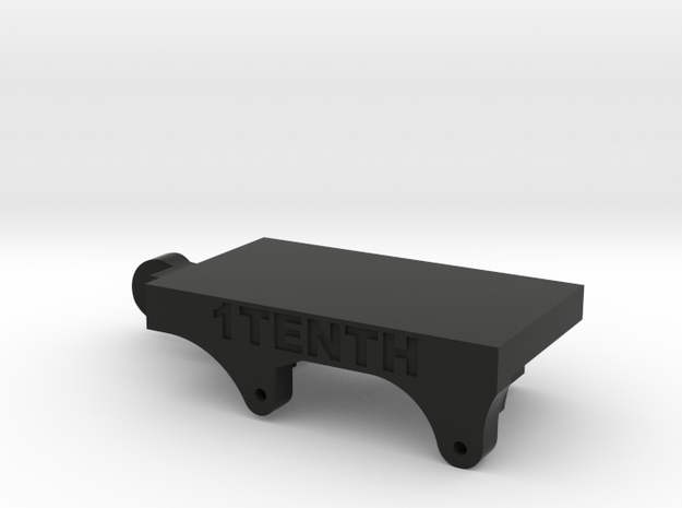 Redcat Portal Servo on Axle and 4 Link adapter  in Black Natural Versatile Plastic