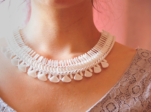 Xalra Necklace 3d printed