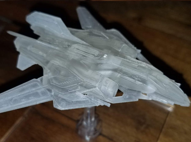 Sabre in Smooth Fine Detail Plastic
