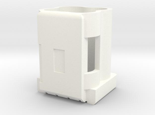 690-14290-01_rev01_MECH, HOLDER, 4X10F SUPERCAPS in White Processed Versatile Plastic