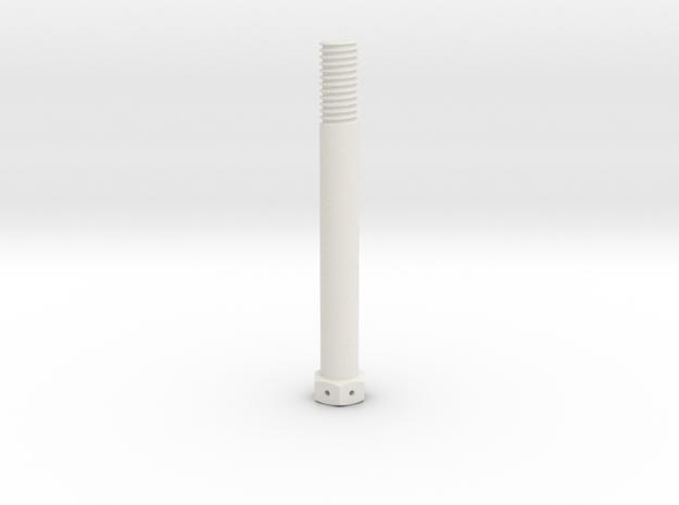 1:1 Apollo RCS Attach Bolt in White Natural Versatile Plastic