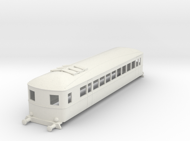 o-64-gnri-railcar-b in White Natural Versatile Plastic