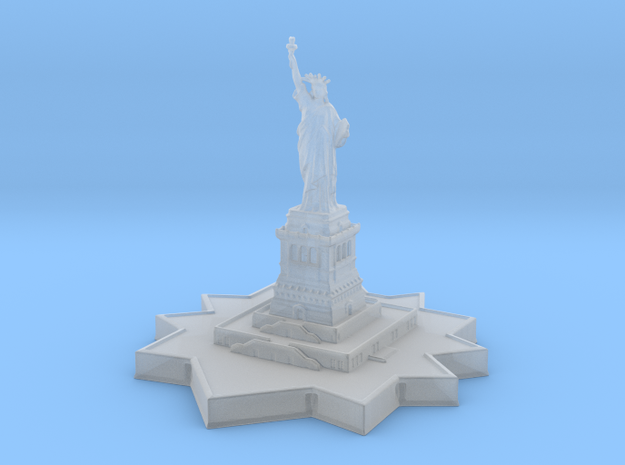 Statue of Liberty 1/1250 in Smooth Fine Detail Plastic
