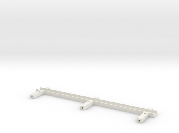 Chain guide lower AYK Radiant RZ18 (A) in White Natural Versatile Plastic