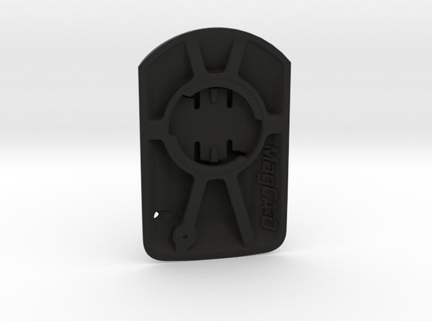 Wahoo Elemnt Roam to Garmin Edge Adaptor in Black Natural Versatile Plastic