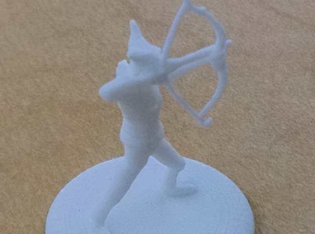 D&D Wilden Seeker with Bow and Arrow Mini