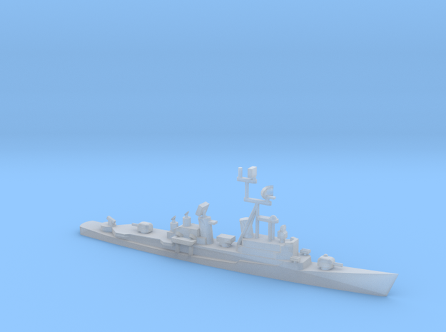 1/1800 Scale German Destroyer Class Lotjens D185 in Smooth Fine Detail Plastic