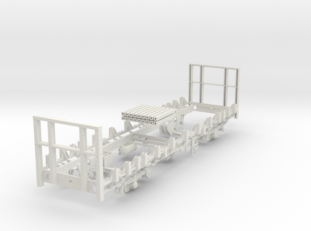 7mm OTA timber wagon Low end in White Natural Versatile Plastic
