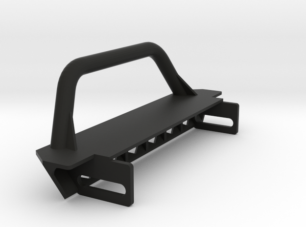 TZK001 Toyzuki Hexagon Series front Bumper in Black Natural Versatile Plastic