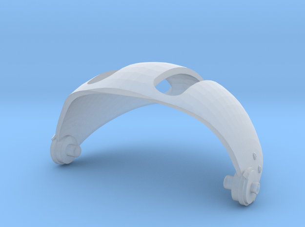 1.7 casque GALLET (A) in Smooth Fine Detail Plastic