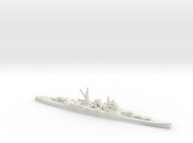 Japanese Mogami-class Cruiser in White Natural Versatile Plastic