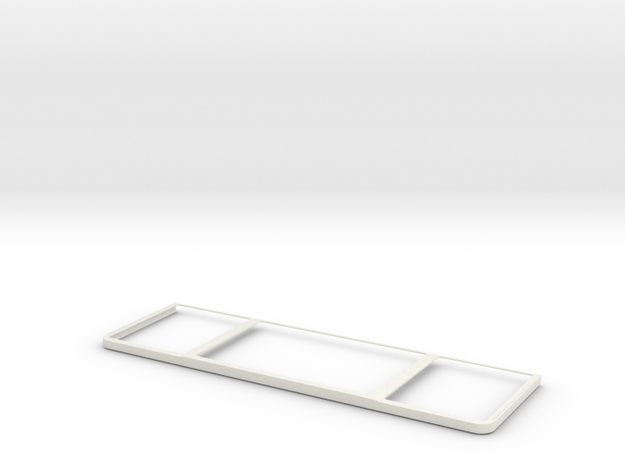 """""""Palms off"""" -- MacBook Pro trackpad Palm Guard in White Natural Versatile Plastic"""