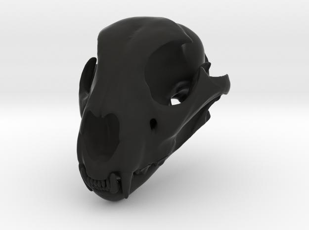 cheetahfinalreduced22 in Black Premium Versatile Plastic