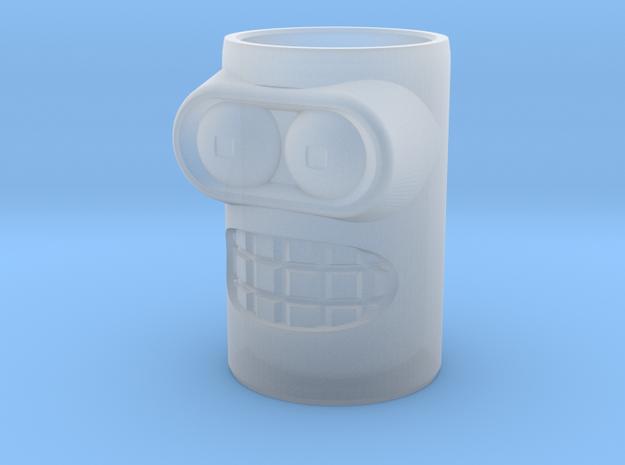 Bender Shot Glass in Smooth Fine Detail Plastic