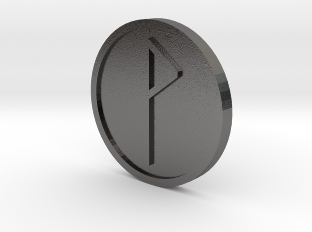 Wynn Coin (Anglo Saxon) in Polished Nickel Steel