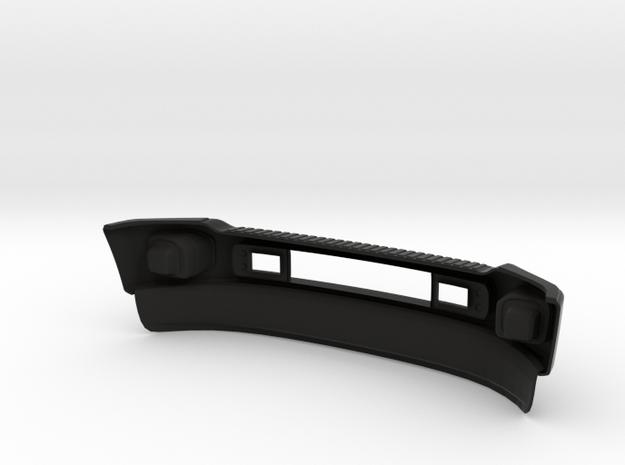 1/10 Ford Excursion Front bumper F-Series in Black Natural Versatile Plastic