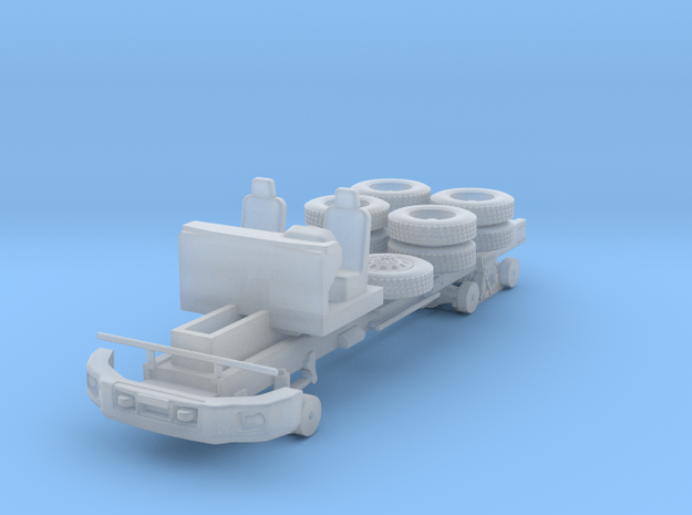 CAT CT660 Chassis 2 axle 1-87 HO Scale in Smooth Fine Detail Plastic