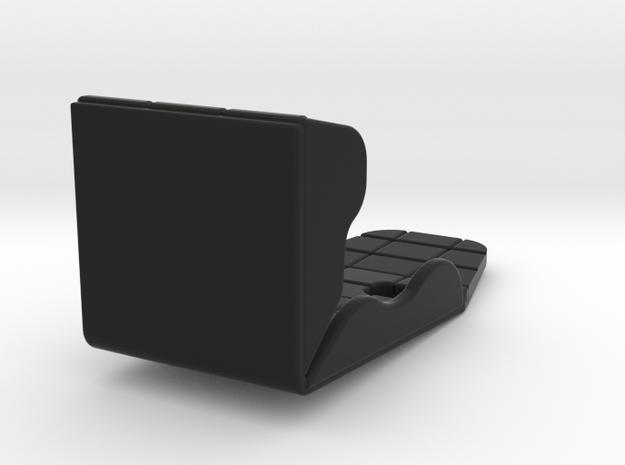 RACE CAR PULLING SEAT in Black Natural Versatile Plastic