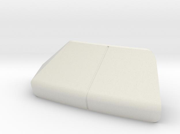 LANDING BAY DOORS, PORT, REV C in White Natural Versatile Plastic
