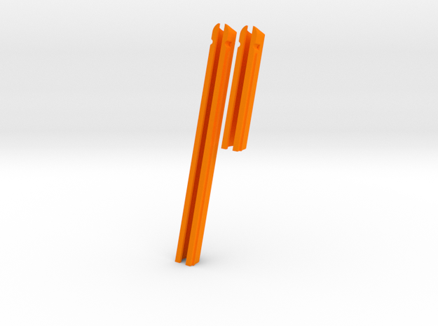 "J22-3"" + 6"" (slot 9"" x 1/2"" and TD= 1/2"")  in Orange Processed Versatile Plastic"