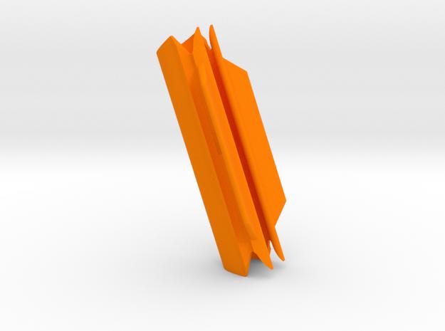 """Cape Dory Typhoon (2 27/32"""" x 9/16"""") in Orange Processed Versatile Plastic"""