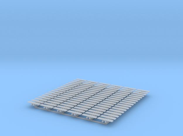 Kette 3 steg 18 mm Breite, Turasinnenbreite 2,5 mm in Smooth Fine Detail Plastic
