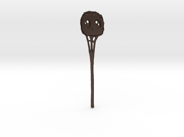 Clueless Whimsy Puff Hairstick 3d printed