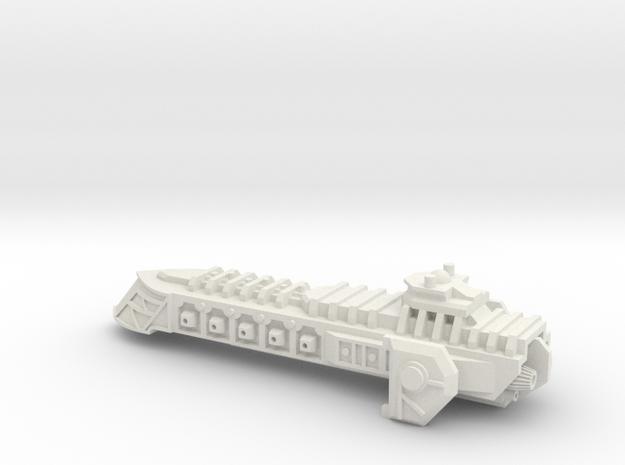 Mastiff Class Escort Cruiser in White Natural Versatile Plastic