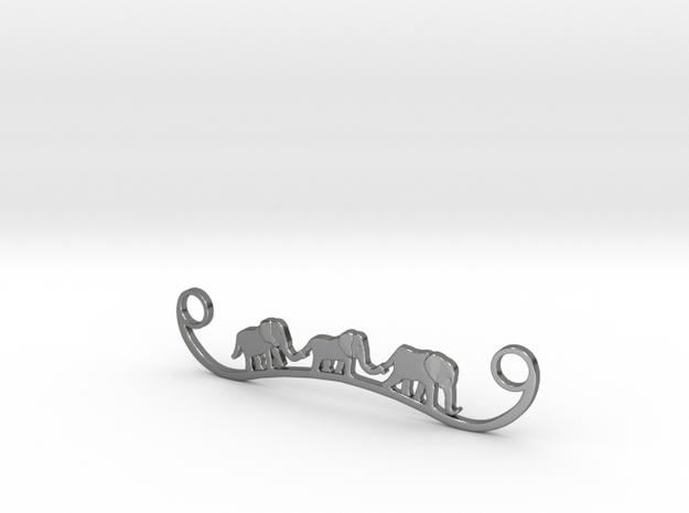 Elephant Line Pendant