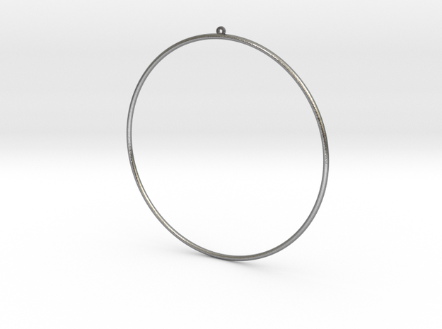 GIPSY EARRING in Natural Silver