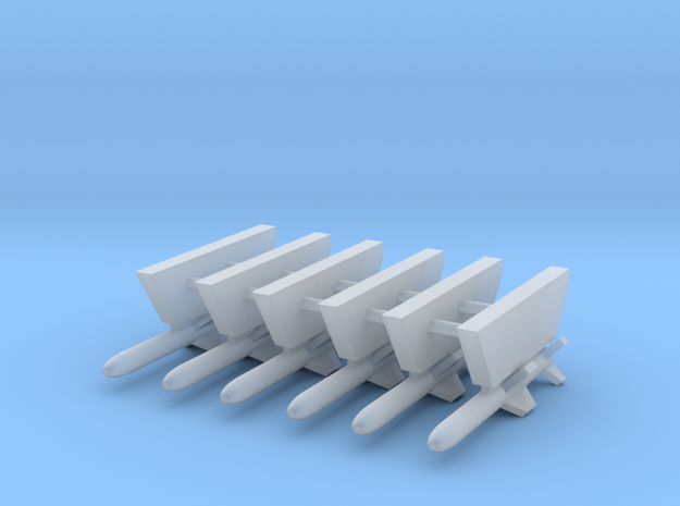 AGM-84A Harpoon Missile 1-Rack in Smooth Fine Detail Plastic