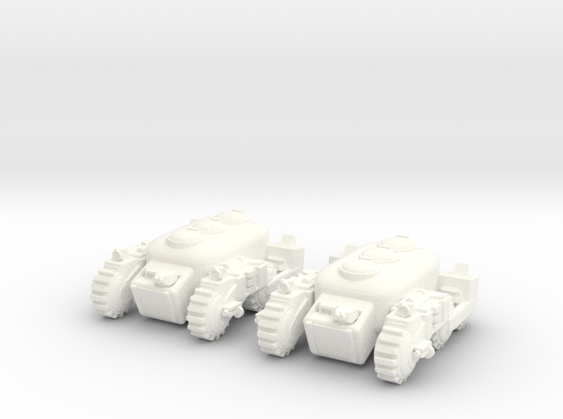 6mm - Urban APC/IFV in White Processed Versatile Plastic