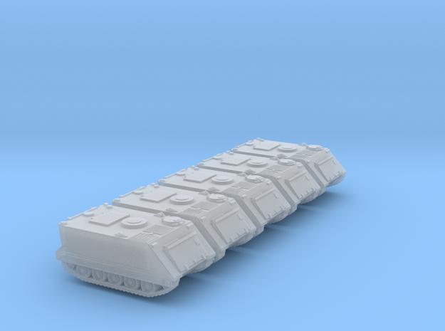 1:144 M113 APC MTW set of 5 in Smooth Fine Detail Plastic